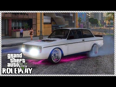 GTA 5 Roleplay - 'MONSTER' 1,400bhp Custom Drift Volvo   RedlineRP #293 thumbnail
