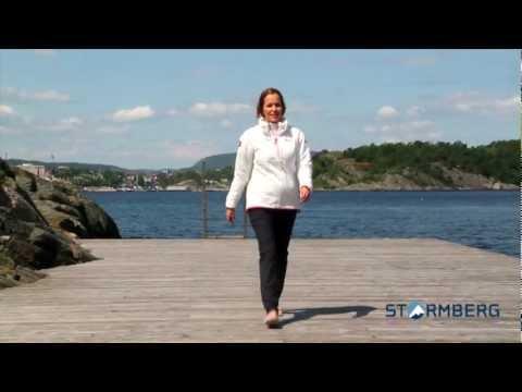 Stormberg catwalk - Ryvingen vattert genser og Havglimt stretchbukse dame