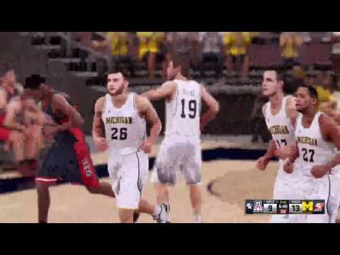 NBA2K16, ENTERING THE NBA FROM MICHIGAN