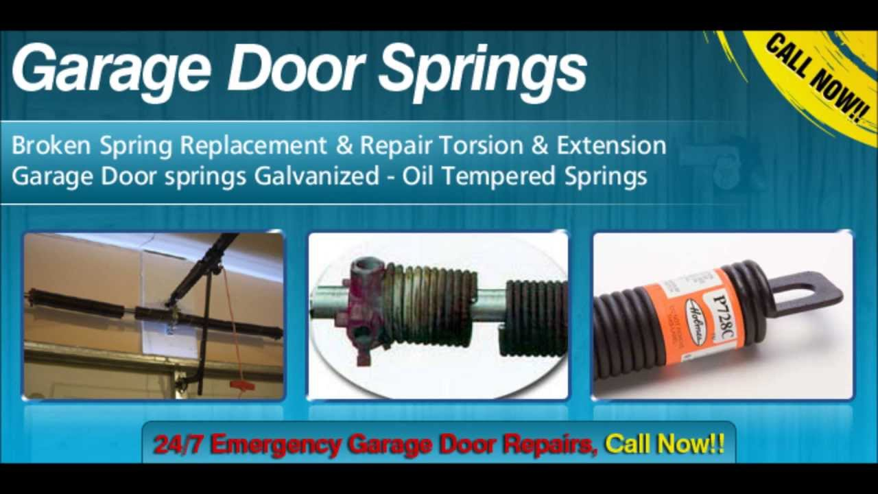 Garage Door Springs Repair Alhambra Ca 91801 626 470 9406 Youtube