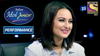 Amit Kumar's Song Leaves A Lasting Impression On Sonakshi | Indian Idol Junior 2