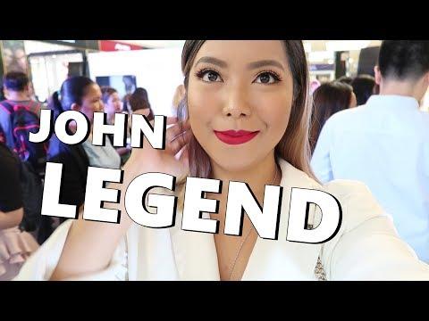 Dates with Moe, JOHN LEGEND CONCERT, Video Shoot.! (March 18-22, 2018) - saytioco