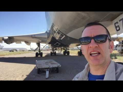 Marana Pinal County airport boneyard tour