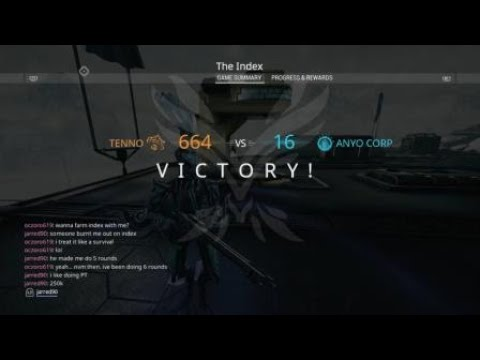 Warframe Solo Index Farm 1.5 Mil In 10 Mins