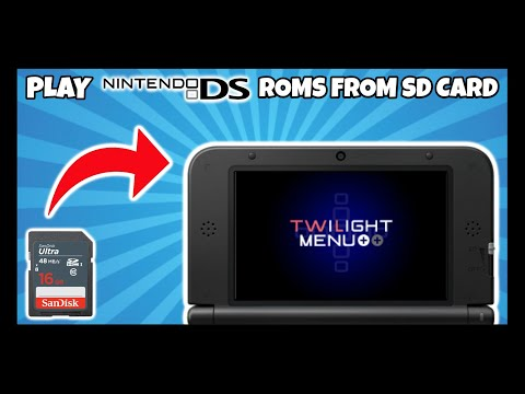 How To Play NDS Roms From Sd Card! (Nintendo 3ds)