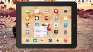 Как записать видео с экрана iPhone/iPad (Windows 7/8/8.1)(В этом видео я расскажу как записывать видео с экрана iPhone, iPad c помощью программы Reflector без джеилбрейка., 2015-02-19T11:57:30.000Z)