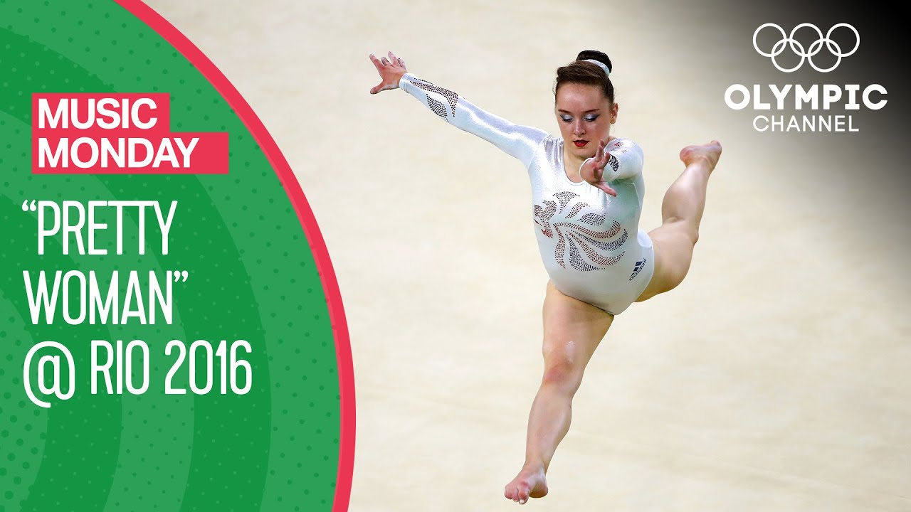 """Amy Tinkler's Bronze Medal Floor Routine to """"Pretty Woman"""" at Rio 2016 