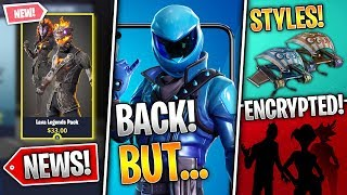 2 Secret Sets, Glider Styles, Honor Skin Return, Lava Legends, Digging Sites! (Fortnite News)