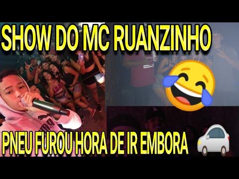 SHOW DO MC RUANZINHO 💥 [ NA VOLTA O PNEU DO CARRO FUROU ] 😂💥 (Edealina, Goiás)