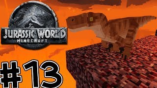 Minecraft Jurassic World: Fallen Kingdom #13 RAPTORS IN THE NETHER!