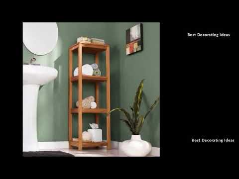 Bathroom Shelving - Bathroom Shelving Decorating Ideas | Modern Wooden & Metal Best Pics
