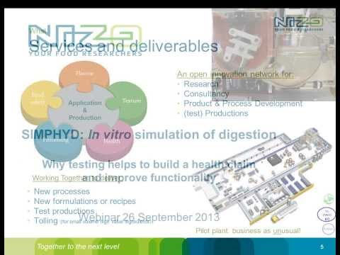 Webinar Why simulation of physiological digestion helps in the development of healthy products
