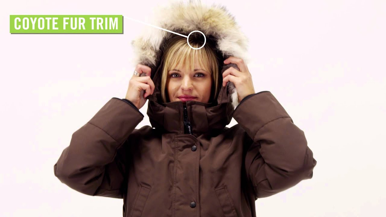 Canada Goose mens online authentic - Canada Goose Women's Trillium Parka - YouTube