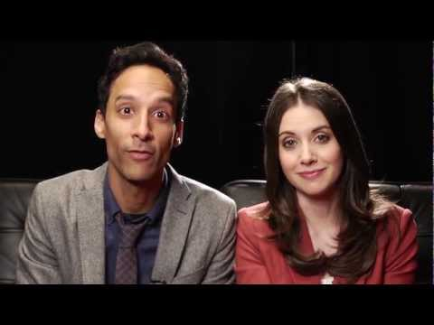 BEST STORY EVER: Alison Brie And Danny Pudi Can't Hold It In Anymore