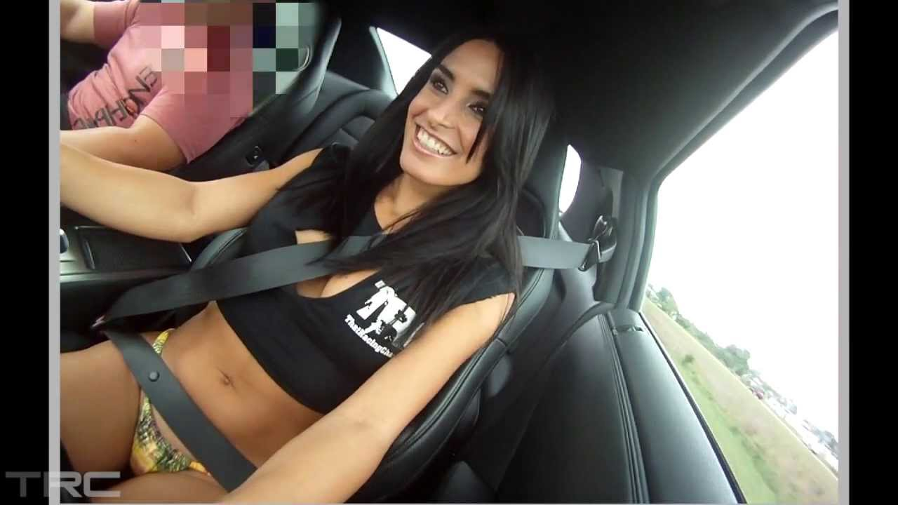 Model Dayanis Garcia Rides In Then Drives A Low 10 Sec Gtr