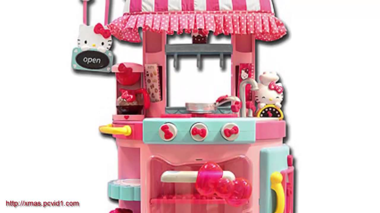 Toy Hello Kitty Watch : Hello kitty stuff cupcake café toy review