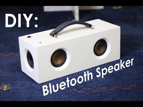 DIY Bluetooth Speaker Build - Part 1
