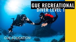 Testing New Waters - GUE Recreational Diver