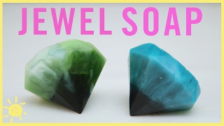 DIY | Gemstone Soap