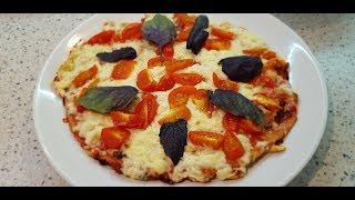 Диетическая пицца из кунжутной муки. Пиццамейкер gfp-1000