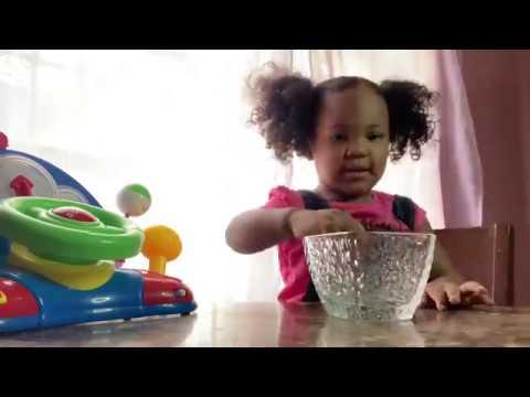Toddler temptation fruit snacks challenge!