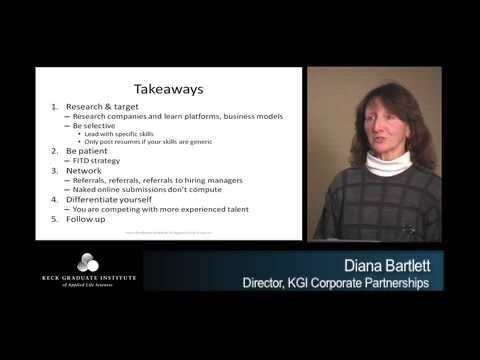 *Keck Graduate Institute Seminar Trailer, Diana Bartlett 2009