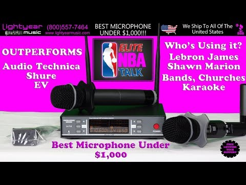 Best Professional Wireless Karaoke Microphones The Perfect Karaoke Microphone Lightyearmusic 🎤✅