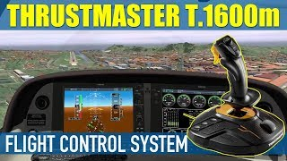 ThrustMaster T16000m Flight Control System For X Plane 11 Setup & Demo