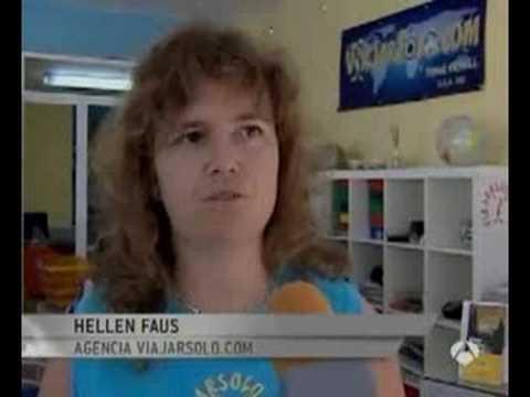 Antena 3 Noticias. Viajarsolo, viajes xa singles es noticia.