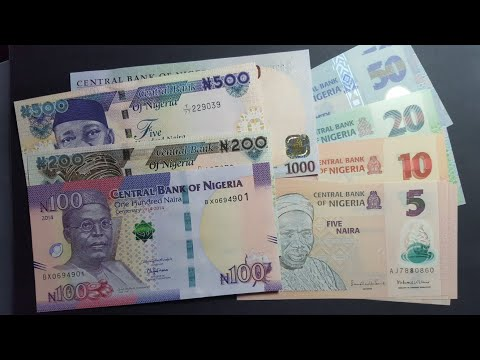 Nigerian Current Banknotes In 2017