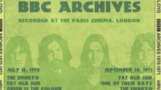Pink Floyd - Green Is The Colour - BBC Archives