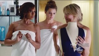 "Castle 8x07  Beckett & Hayley in  Spa  Undercover ""The Last Seduction"" Season 8 Episode 7"