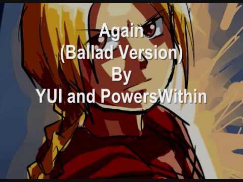 YUI  Again Ballad Version
