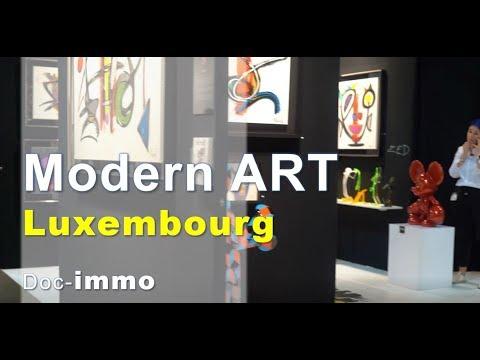 Modern art in Luxembourg, investir dans l'abstract painting, du speedart, à deux pas du moma