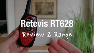 Retevis RT628 - PMR Kids Walkie Talkies (Review and Range Test)