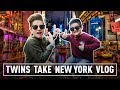 Twins Take On New York!   Brock and Boston