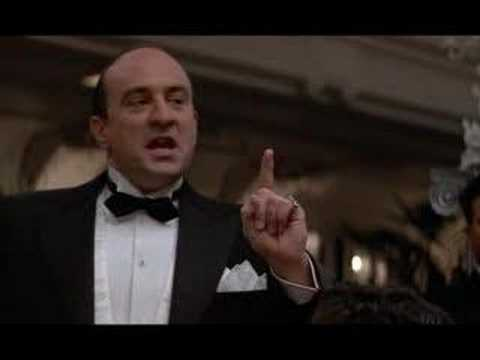 al capone speech untouchables In the untouchables, robert de niro as al capone says he wanted eliot  big mike's speech of how the competition goes between the stores spoofs maloy's speech on.