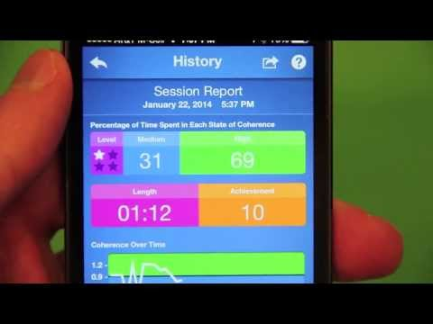HeartMath Inner Balance Lightning Sensor and App Review.  Can This Tech End Stress?