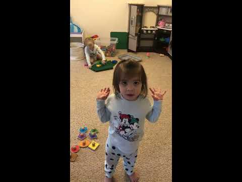 Toddler flips out at Dad.. You cant believe what this 2 year old says