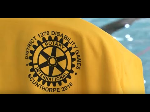 Disability Games 2016 with Scunthorpe Rotary