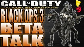 call of duty black ops 3 beta at e3 2015 talk failed dna bomb with elite tac 19 aw gameplay