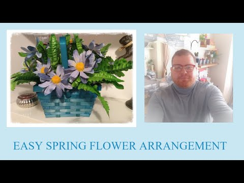 🌼 POUNDLAND UKS DOLLAR TREE: EASY DAISY ARRANGEMENT DIY TUTORIAL & HEALTH UPDATE