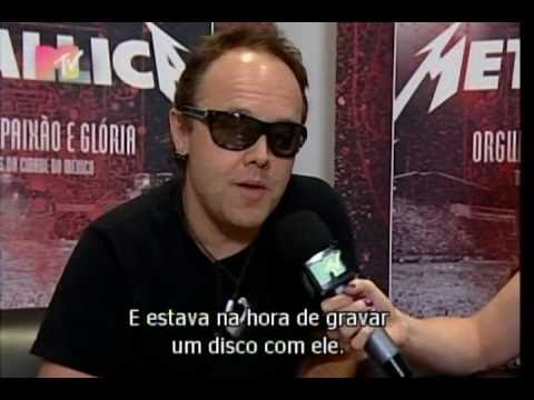 Entrevista com Lars Ulrich Metallica - MTV Brasil Janeiro de 2010