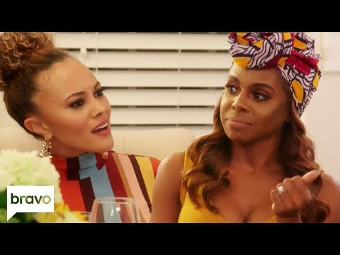 Candiace Dillard & Ashley Darby Argue About The Big Elephant In The Room | RHOP Highlights (S4 E8)