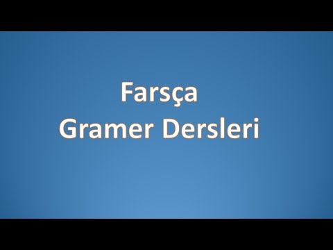 Farsça Gramer Dersleri 1.Kitap-Ders 07-a
