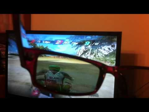 Using 3D TV for 2 Player Split Screen Left-Right Mode