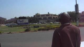 President Sata's inauguration motorcade