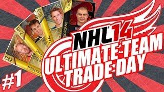 NHL 14 Ultimate Team Trade Day #1 (PS3) | Frazen, Zajac, M.Staal, TOTW Giordano