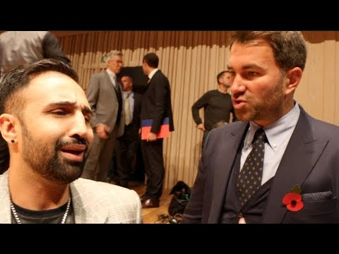 'DIDNT McGREGOR DROP YOU IN SPARRING?' EDDIE HEARN TO PAULIE MALIGNAGGI & WANTS TO MAKE THAT FIGHT!