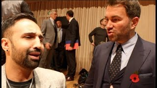 'DIDNT McGREGOR DROP YOU IN SPARRING?' -EDDIE HEARN TO PAULIE MALIGNAGGI & WANTS TO MAKE THAT FIGHT!